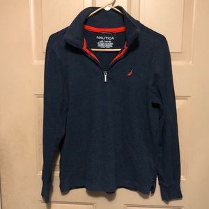 Nautica Boy's Dark Blue Sweater
